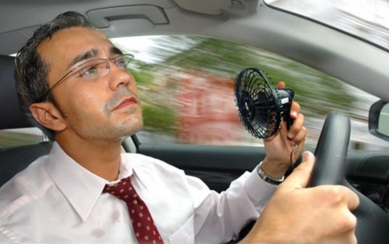 Как справиться с жарой в автомобиле
